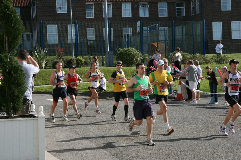 Brighton Marathon - Ovingdean Hall 2011