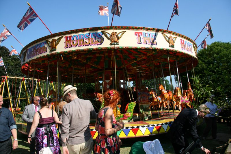 Carousel for hire